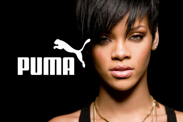 Rihanna: the new face of Puma women's training collection (photo: donbleek)